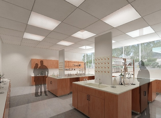 Rendering of upcoming lab
